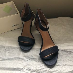 Style & Co Shoes - Womens PAYCEE Open Toe Casual Ankle Strap Sandals